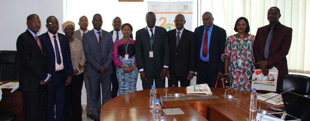 Rencontre avec la Commission Nationale pour la Microfinance et une délégation nigérienne (02 juillet 2018)